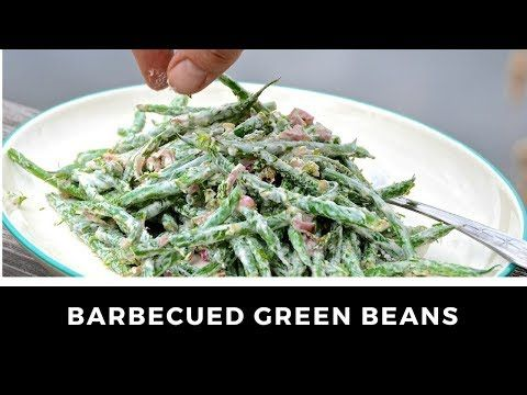 If you love a crunchy vegetable side dish packed with delicious flavours, then here you go - this BARBECUED GREEN BEANS recipe is a healthy, tasty treat!