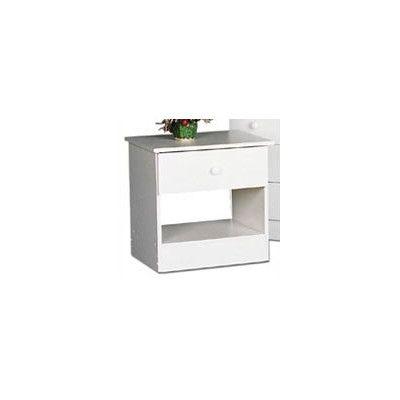 $103 Prepac Casual Bedroom 1 Drawer Nightstand & Reviews   Wayfair
