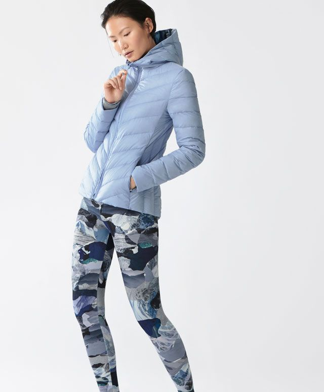 Dağ temalı hafif ceket - Yeni Gelenler - SPOR | Kadın modasında Sonbahar Kış 2016 trendleri - Oysho Türkiye