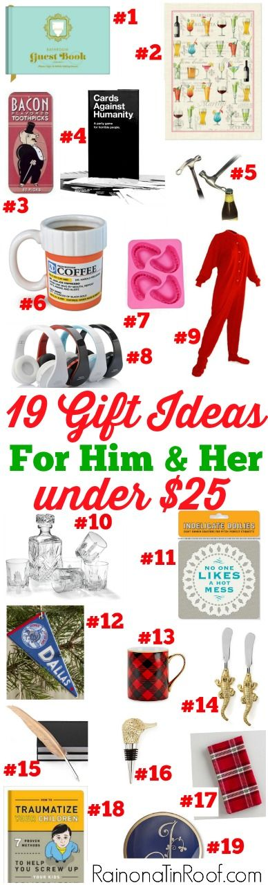 Random gift exchange ideas for christmas