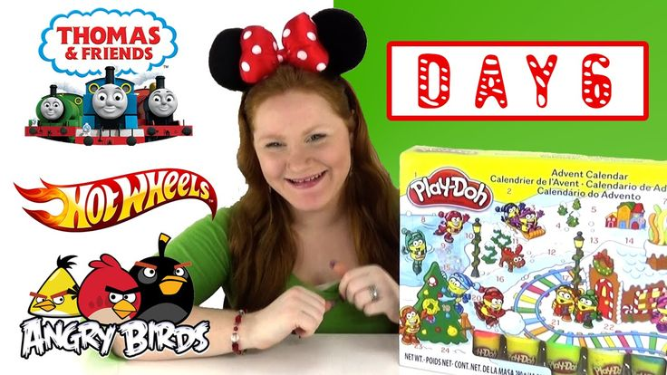 The Toy Bunker presents Toy Advent Calendars from Play Doh Hot Wheels Thomas & Friends Minis and Angry Birds DAY 6.   Make sure to check back tomorrow for more Holiday fun!  Don't forget we are not playing our finding R2D2 game in our Advent videos but keep watching for him in our normal videos!  Advent Videos:  Toy Advent Calendars from Play Doh Hot Wheels Thomas & Friends Minis and Angry Birds - DAY 1 https://youtu.be/WV21cZvukNw  Toy Advent Calendars from Play Doh Hot Wheels Thomas…