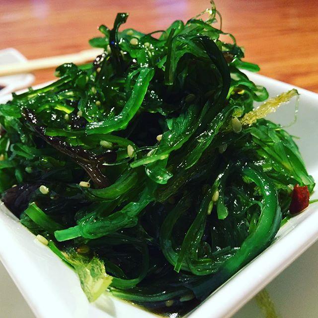 #salad #foodporn #seaweed