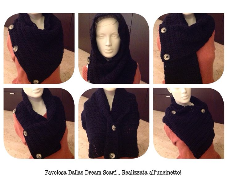 Free Crochet Pattern For Dallas Dream Scarf : Dallas dream Scarf grande crochet Pinterest Scarfs ...