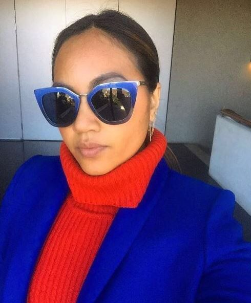 Loving these sunglasses! (Via a post by Jessica Mauboy on Apple Music.)