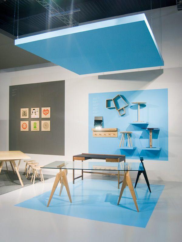 SCP - Milan Furniture Fair — Oscar & Ewan. Offener Raum im Raum. Geeignet auch für PopUp »klein in groß«