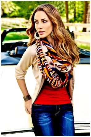 new Body Central scarves