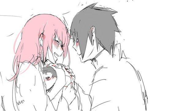 ♡Sasuke and Sakura♡ 8