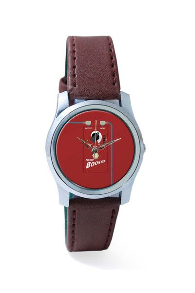 Women Wrist Watch India   Pick Up Booster Guitar Effects Pedal Wrist Watch Online India
