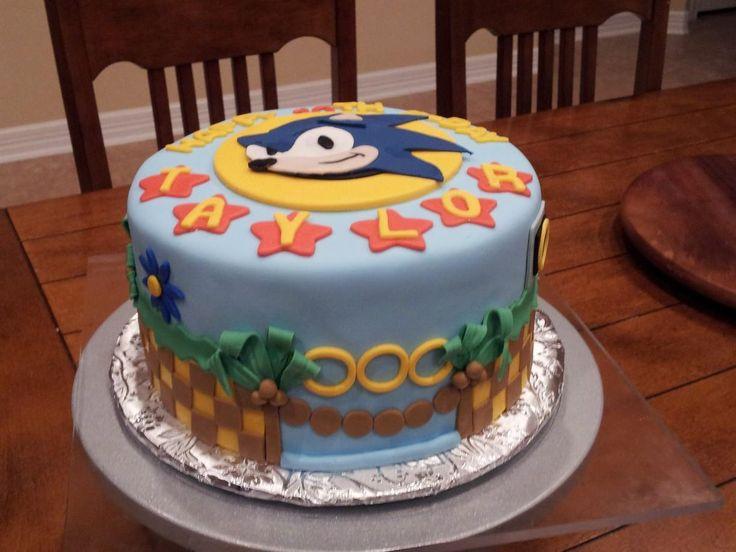 - Sonic The Hedgehog Cake