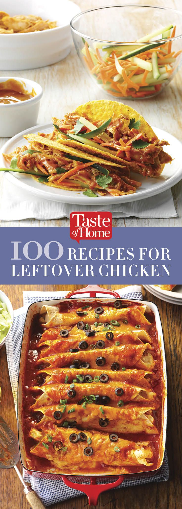 100 Recipes for Leftover Chicken
