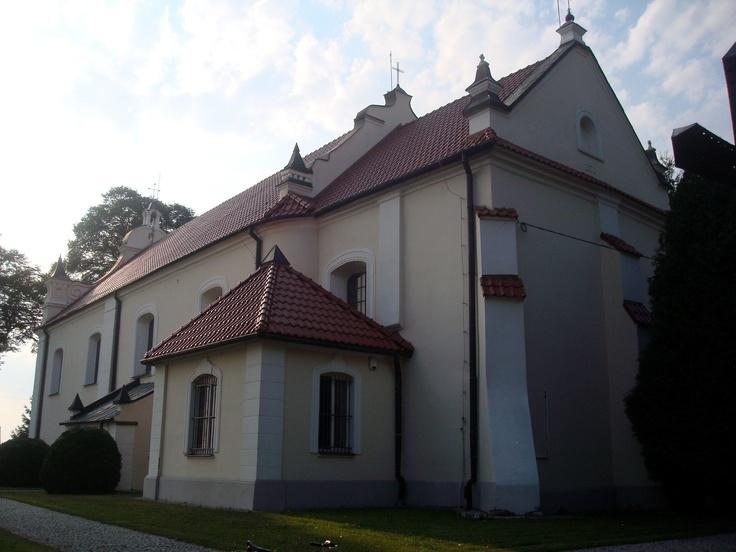 Radzyminek - kościół p.w. śś. Piotra i Pawła