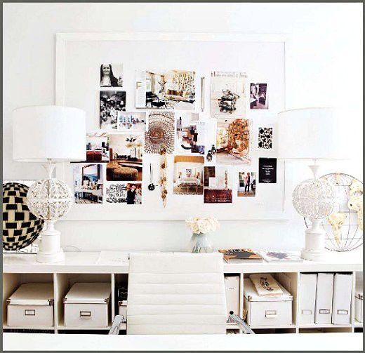 love the white boxes #homeoffice: Mood Boards, Pin Boards, Offices Spaces, Bulletin Boards, Work Spaces, Inspiration Boards, Workspaces, White Offices, Home Offices