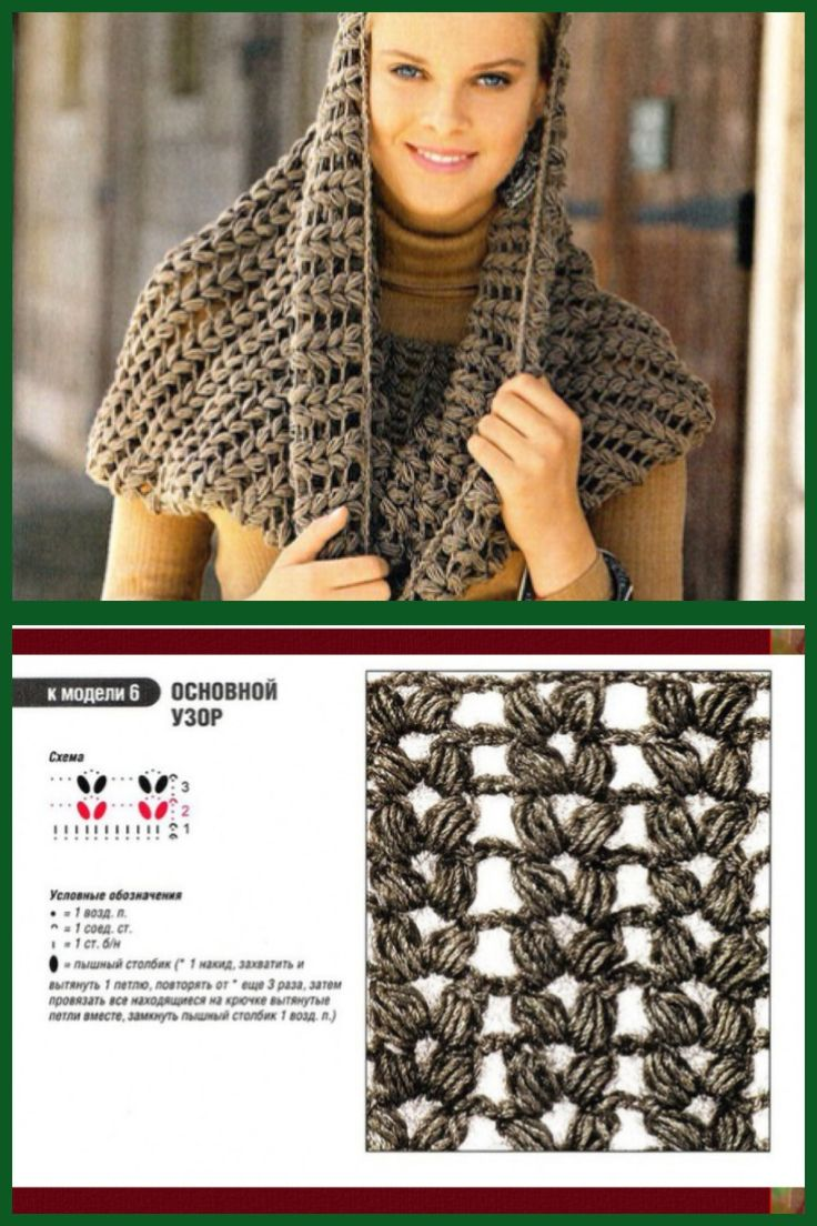 Crochet Cowl - Free Chart. Love the stitching. It almost looks knitted.