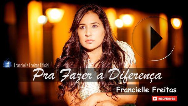 CD Mp3 Original Gospel Cantora Gospel Francielle Freitas.    Pra Fazer a Diferença são 10 faixas Exclusivas.    www.shopdamerica.com.br