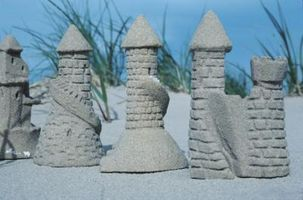 how to build a sandcastle instructions