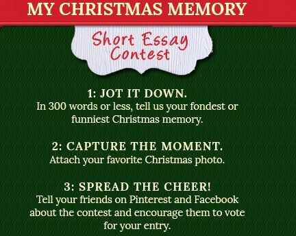 blessings of christmas essay contest Be present at our table, lord, be here and everywhere adored, these mercies bless, and grant that we may feast in fellowship with thee perhaps they noticed the words above the church basement kitchen window, perhaps they didn't.