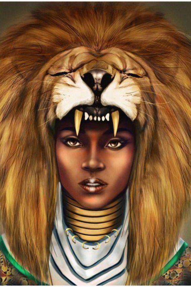 African American Beauty....