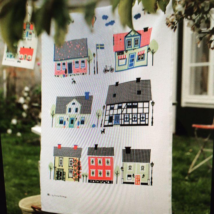 Housemusik of Sweden towel design Emelie ek