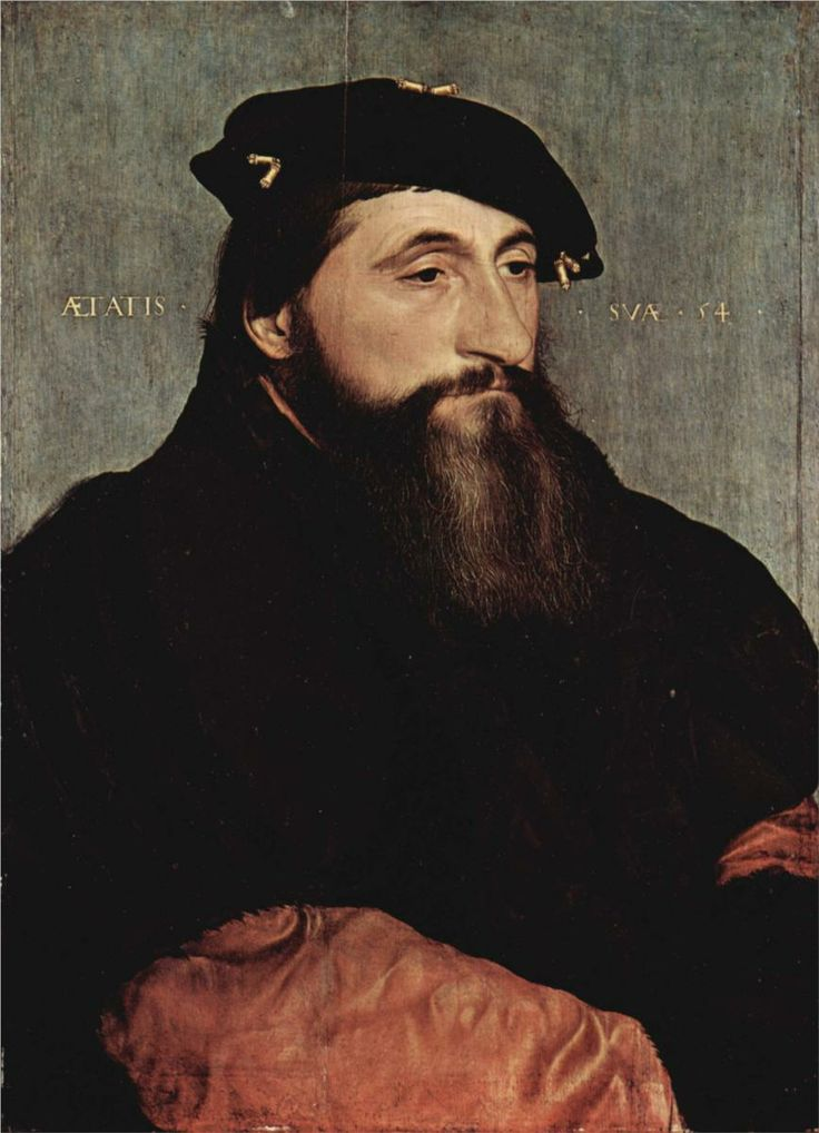 Duke Anton the Good of Lorraine, 1543 - Hans Holbein the Younger -