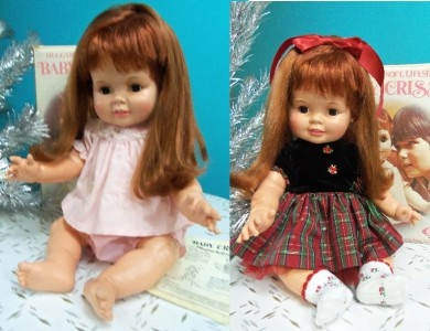 chrissy doll from the 70's... I cried when I got her foe Xmas... I didn't like her at all...