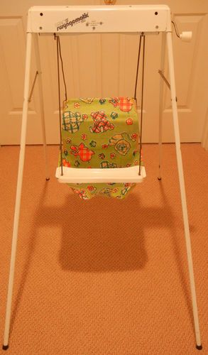Vintage Graco Swyngomatic Baby Wind Up Swing Antique Infant Seat | eBay