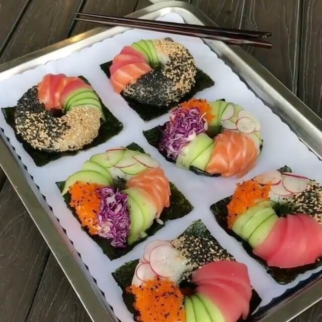 Best 25 colorful donuts ideas on pinterest diy donuts for Sashimi fish crossword