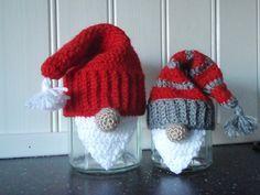 Santa covers for jars - unique presentation for jam/pickles etc