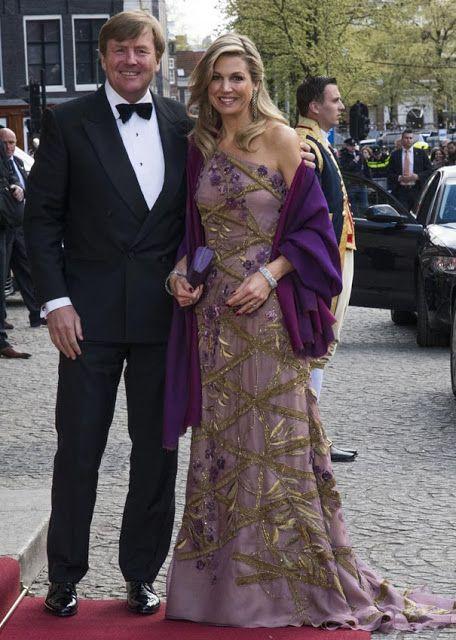 King Willem-Alexander's 50th Birthday Celebrations – Dinner 28 Apr 2017