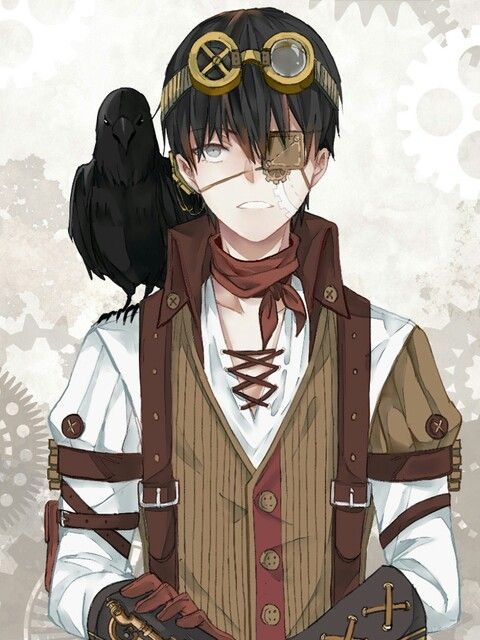 Anime Characters That Start With E : I m kinda starting to like the eyepatch maybe when his