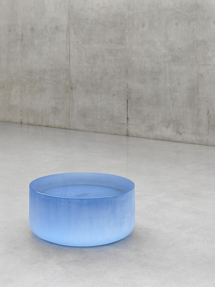 Roni Horn - This was in the Sydney Biennale, 2014, a room full of these big glass sculptures.