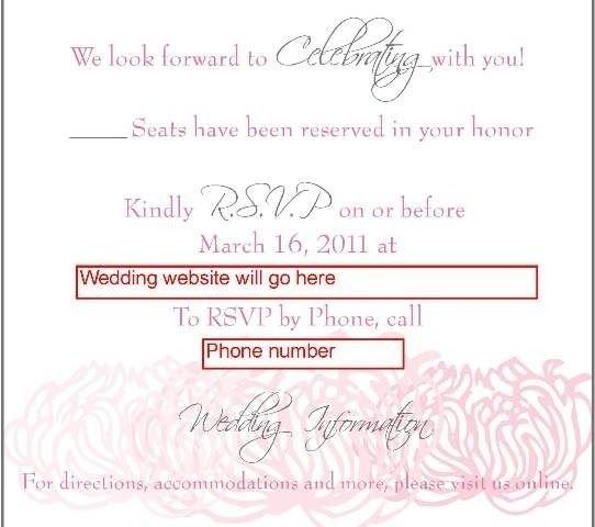 Wedding Rsvp Website.Invitation With Rsvp Online