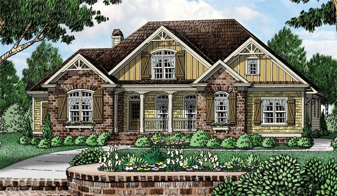 Eplans Cottage House Plan Personality And Charm 2677