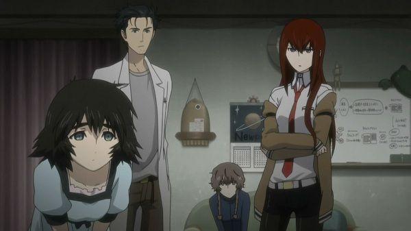 Steins;Gate, Makise Kurisu, Okabe Rintarou, Shiina Mayuri
