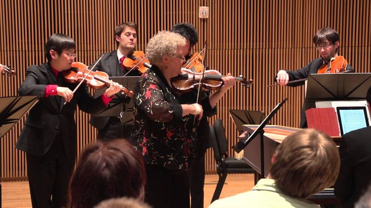 "Vivaldi's Concerto for violin ""Il favorito,"" RV 277 performed by NYBI an..."
