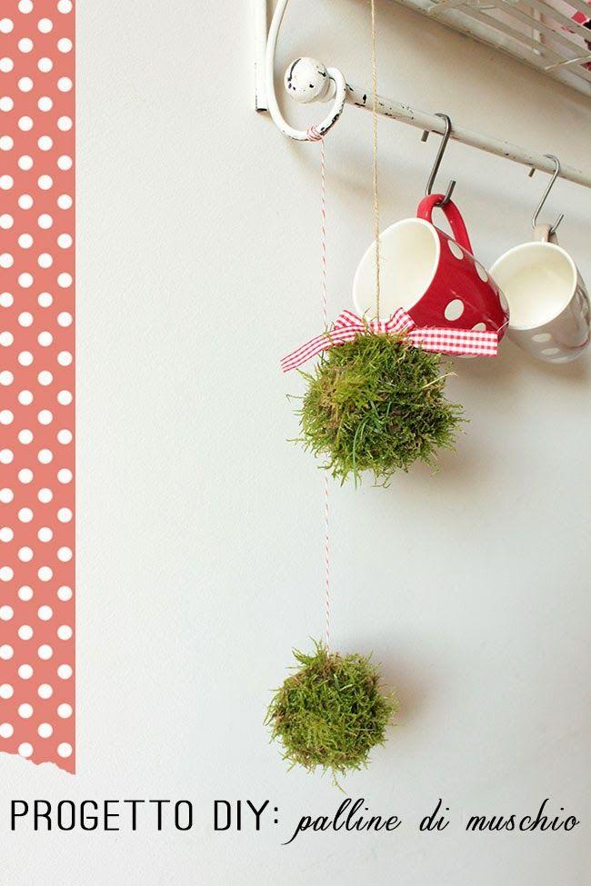 Home Shabby Home{Natale al verde}: Palline di muschio