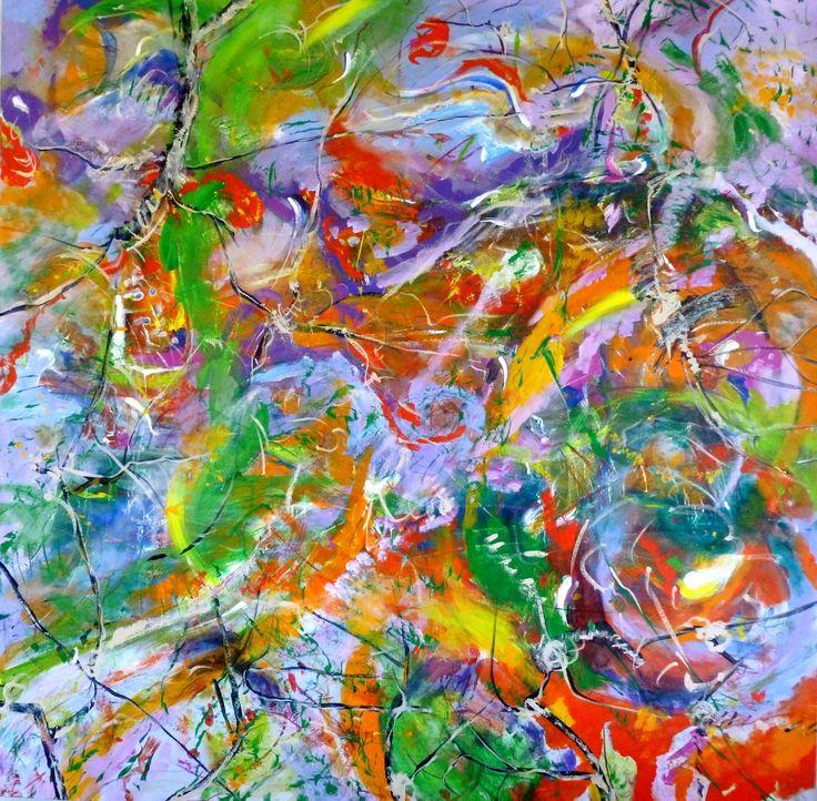 """Spring"" by Debra Dougherty. Paintings for Sale. Bluethumb - Online Art Gallery"