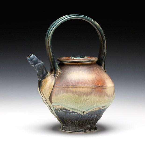 Schaller Gallery : Artist : Steven Hill : Teapot