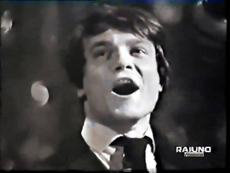 ♫ Massimo Ranieri ♪ Se Bruciasse La Città Canzonissima 1969 ♫ Video & Au...