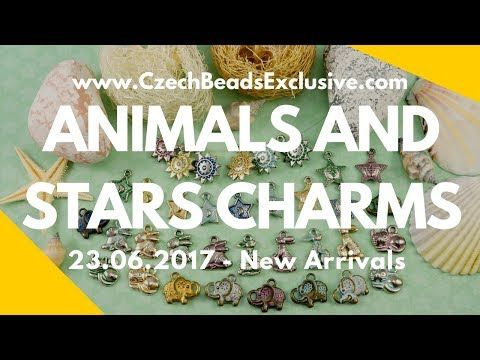 Czech Patina Animals And Stars Charms - New Arrivals 23.06.2017 | CzechBeadsExclusive