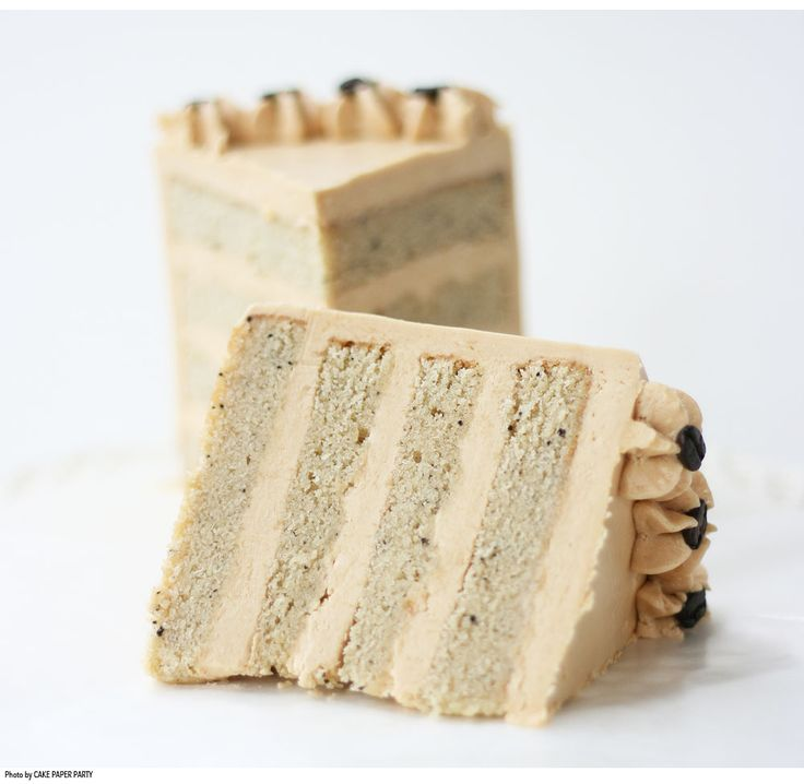 White Mocha Cake with Espresso Caramel Buttercream : Pastry Portal, Gateway to Sweetness - Pastry and Gourmet Tools and Ingredients