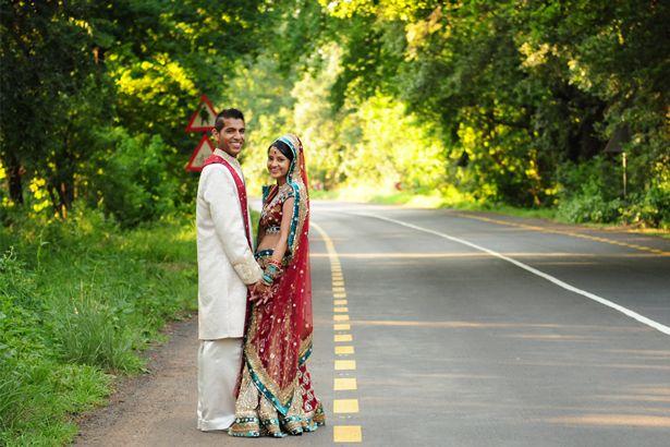 {Real Wedding} Trusha & Kishan