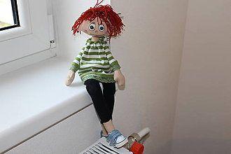 Hračky - textilná bábika - 7524626_