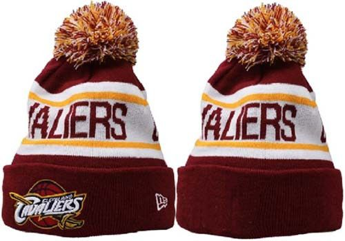 NBA Cleveland Cavaliers Logo Stitched Knit Beanies 001