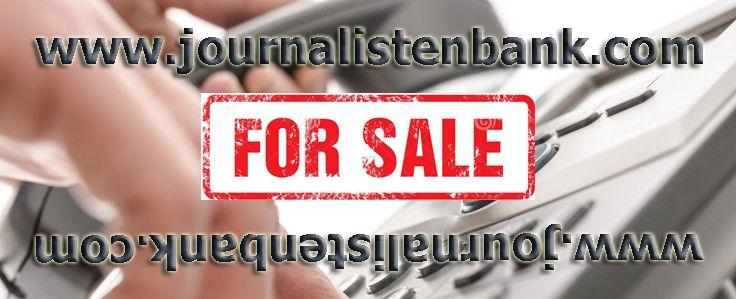 Journalistenbank.com zu verkaufen Der perfekte Domain für Journalisten oder PR Agenturen welche Nachrichten auf dem Markt bringen wollen, müssen http://dld.bz/eYX3T