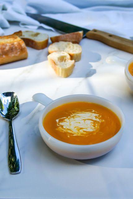 Cream of sweet potato and carrot soup | Tera Solara