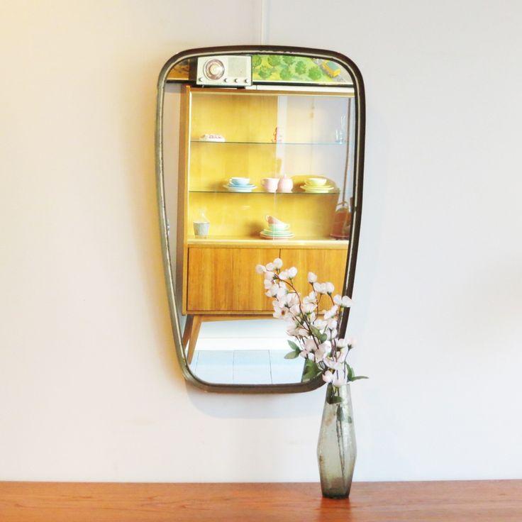 Les 25 meilleures id es de la cat gorie cadres de miroir - Peindre un miroir dore ...