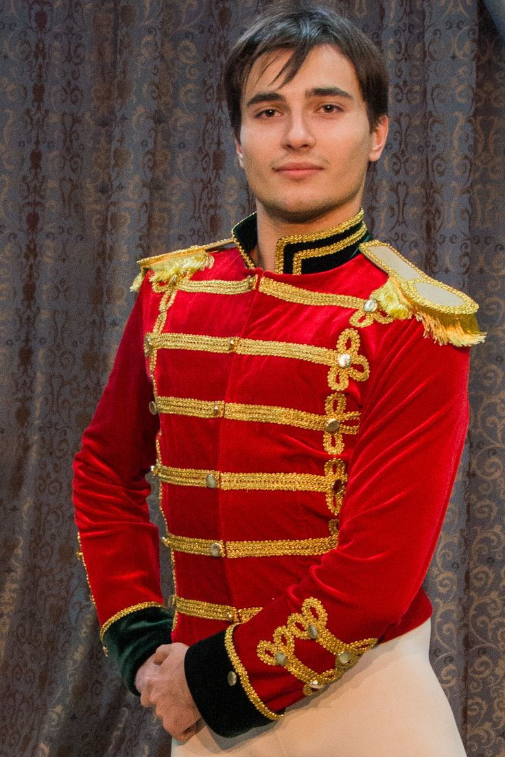 This tunic has been created for the role of the Nutcracker