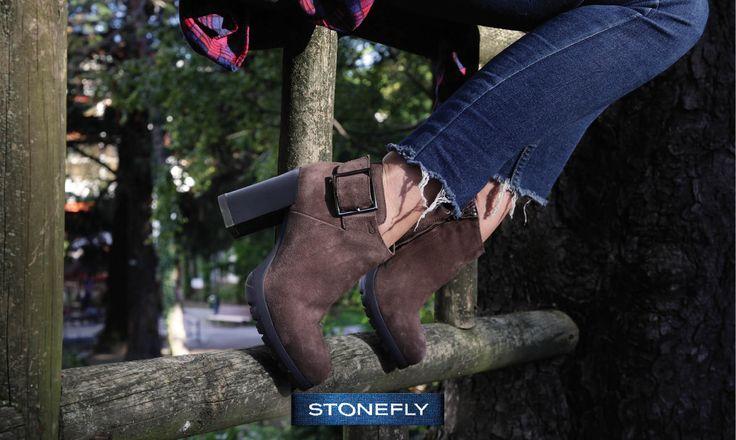 Octubre: es tiempo de #botines! Si os gustan tanto como a nosotros esta temporada vais a tener donde elegir. Aquí os adelantamos un modelo casual perfecto para el campo y la ciudad! >> http://www.stonefly.it/es/2/collecion/senora/710/over-3.html