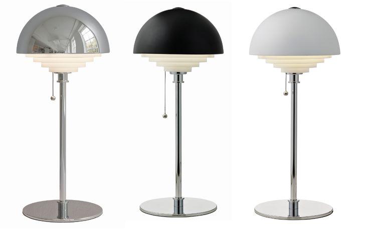 Lampe:Herstal Retro Bordlampe Designer: Herstal Leverandør: Herstal År:1960