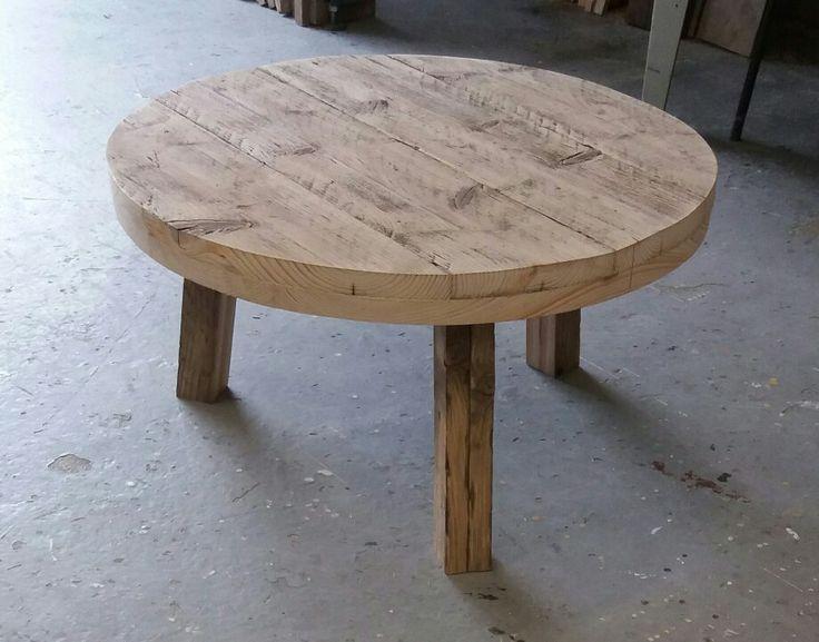 80 cm. round coffeetable